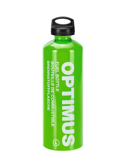 Optimus 8016300 Bränsleflaska 1 l med barnsäkert lock grön